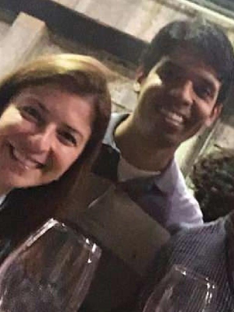 Ms Haddad with Mario Marcelo Santoro.