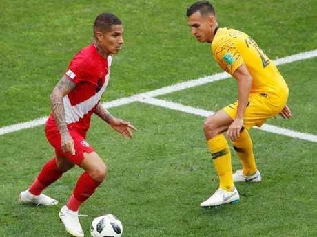 Peru took its chances but Australia didn't.
