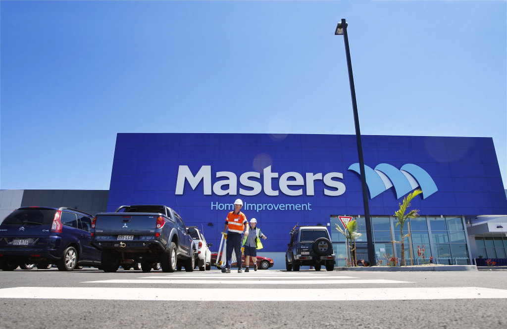 Masters Hardware Store Springfield Central. Photo: David Nielsen / Queensland Times IPS041011MAST04A