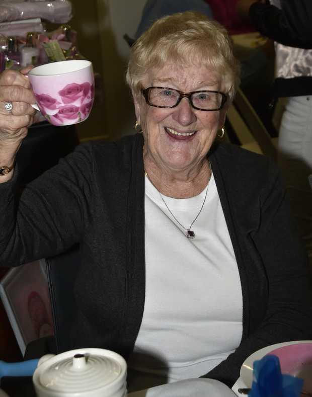 Cindy Press  Biggest Morning tea at Oaktree Retirement