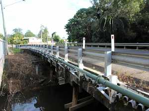 Bridge works in Cooroy