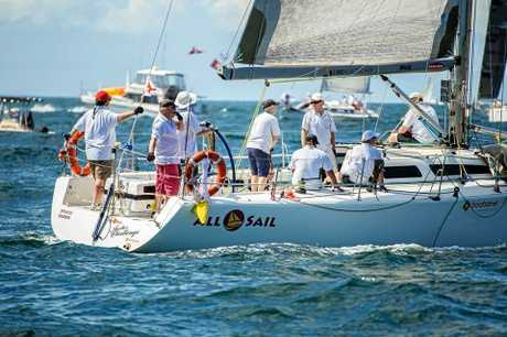 The Pantaenius Newport to Coffs Coast Yacht Race.