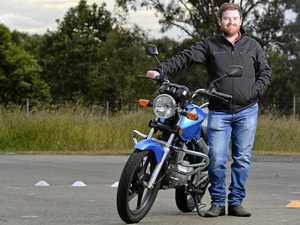 Why this man quit his job to ride motorbikes for a living