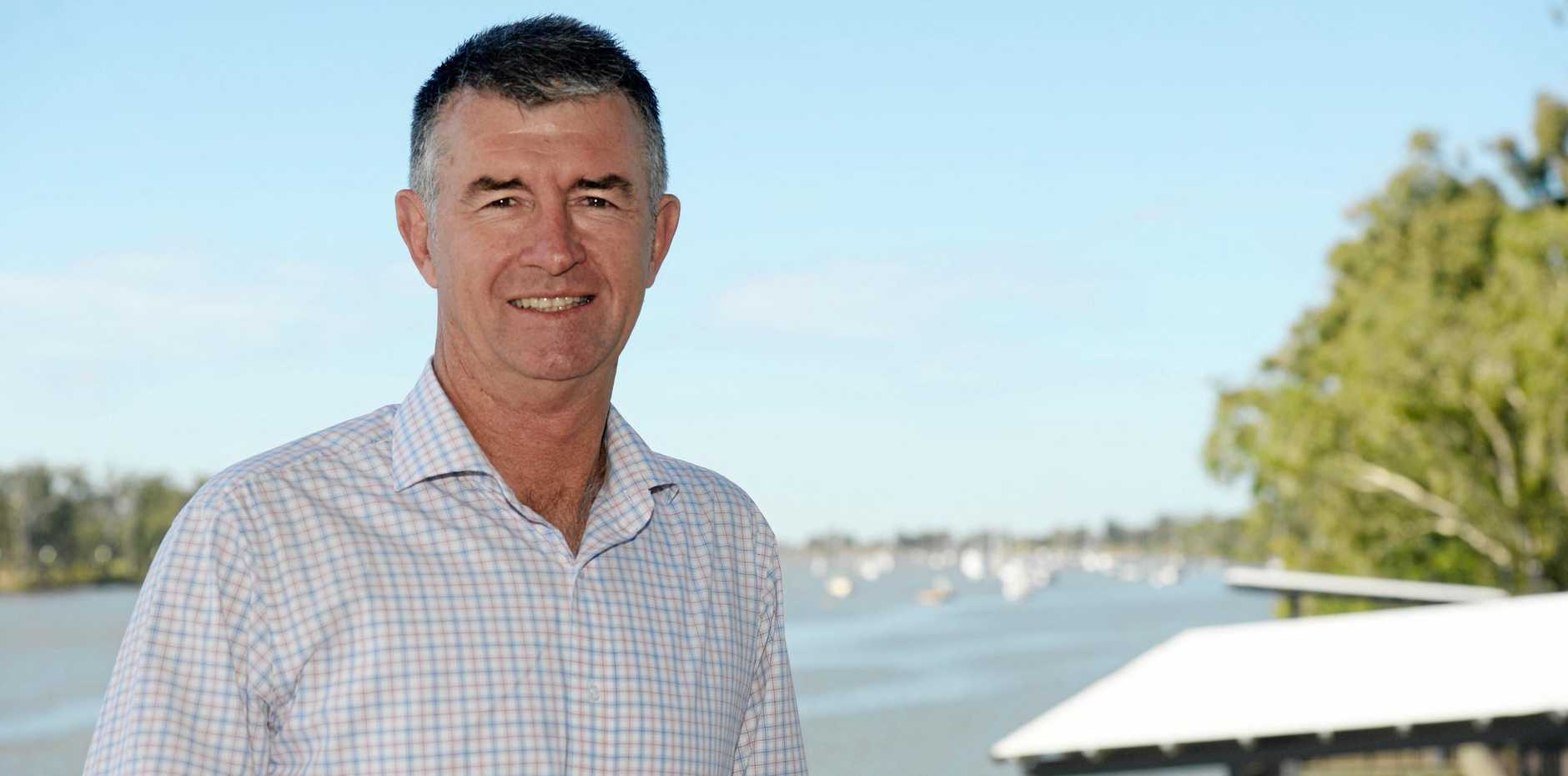 REBUILDING PHASE: LNP's Deputy Leader Tim Mander is not daunted by the challenge of earning trust in opposition.