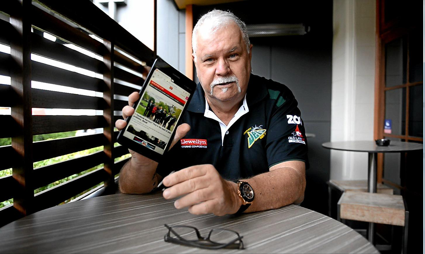 Greg Jacko Lyons talks about the Queensland Times tablet offer.