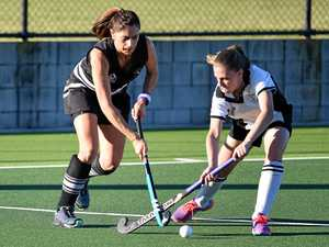 Magpies battle in Hervey Bay Hockey's women's comp