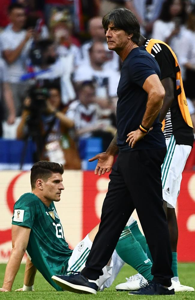 Is this the end for Joachim Loew? Picture: AFP.
