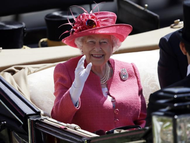 The Queen, pictured  attended Royal Ascot last week, has cancelled an engagement due to illness.
