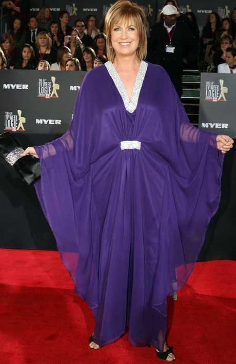 Tracy Grimshaw was last seen on the Logies red carpet in 2009.