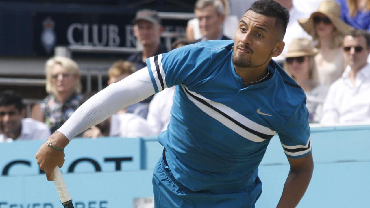Nick Kyrgios is seeded 16th at Wimbledon. Picture: MEGA.