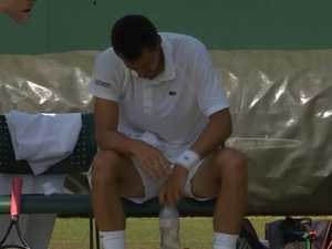 Tomic bombs in Wimbledon nightmare