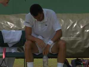 Tomic bombs in Wimbledon nightmare