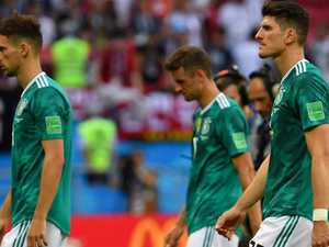 Huge shock as Germany crash out at group stage