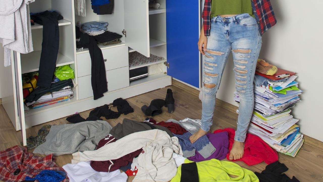 A mother has threatened to kick her teenage daughter out of her own bedroom because she's 'living in filth'. Picture: iStock