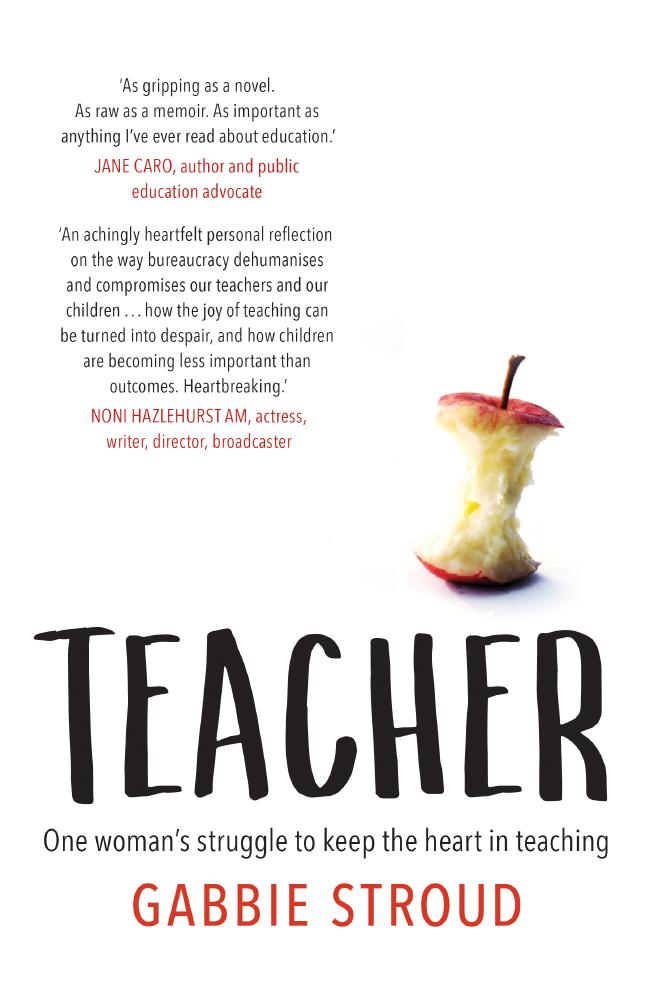 Gabbie Stroud's book about teaching in Australia is out now.