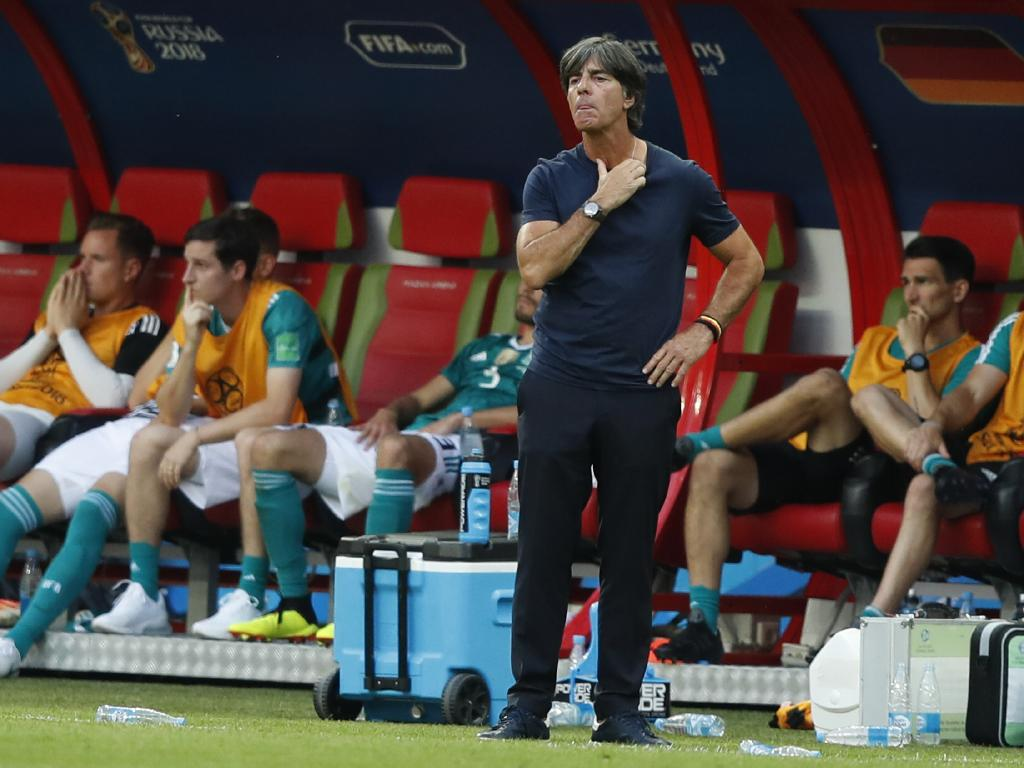 Germany head coach Joachim Loew was left shell-shocked.