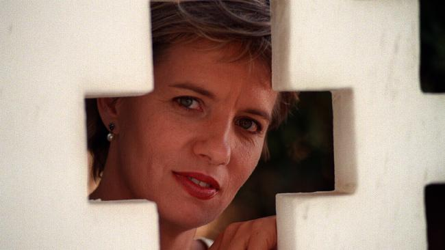 Liz Jackson in a promotional photo when she was announced as a new host for Four Corners in 1994.