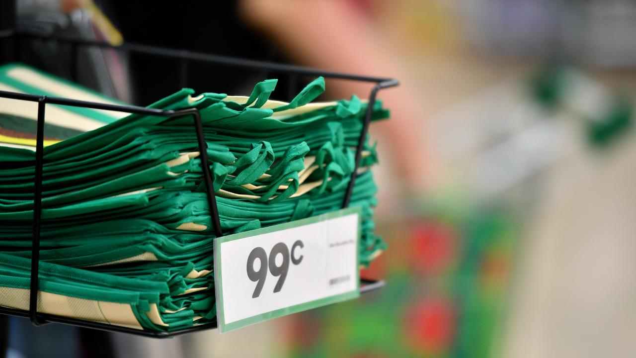 Supermarket giants Woolworths and Coles have denied shocking reports of needles, rodents and dirty nappies being presented to check-out staff in customers' reusable bags.