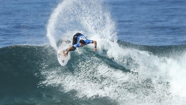 Pay in surfing is often determined by how many competitors there are. Picture: World Surf League