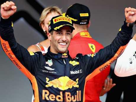 All Daniel Ricciardo wants is a world title.