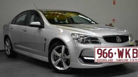 Zlatko Sikorsky is believed to be travelling in a silver 2014 Holden Commodore with a sunroof and Queensland registration 966 WKB. The  Queensland public is being warned not to approach him. Picture: Supplied