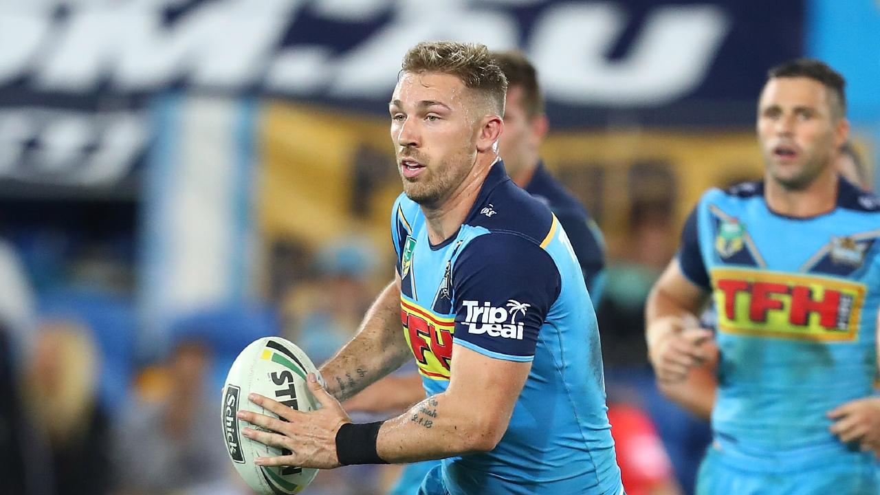 Bryce Cartwright has had a poor year with his new club, failing to impress for the Titans. Picture: Getty
