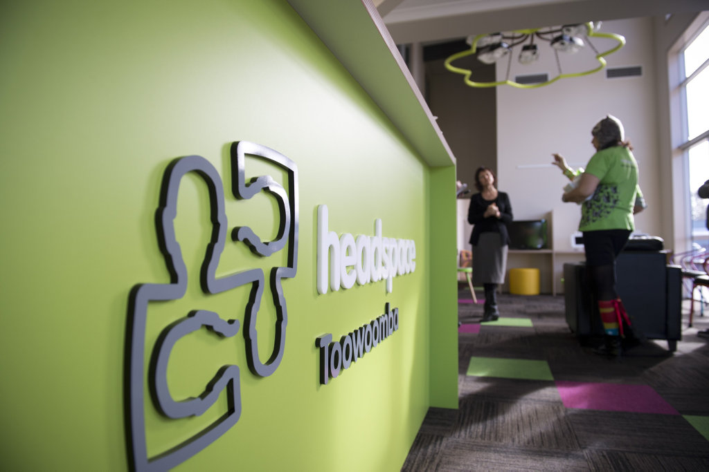 headspace Maryborough is expected to arrive next year.