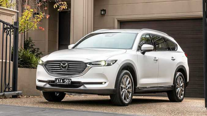 The Mazda CX-8 reaches showrooms with seven seats, and is only available with a 2.2-litre diesel engine.