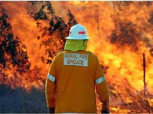 Burn off at fatality site this weekend