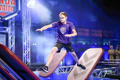 Former Lismore resident Fred Dorrington is back on Australian Ninja Warrior 2018.