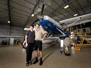 Mackay pair propelling love for flight
