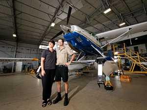 Mackay pair propelling love for flight