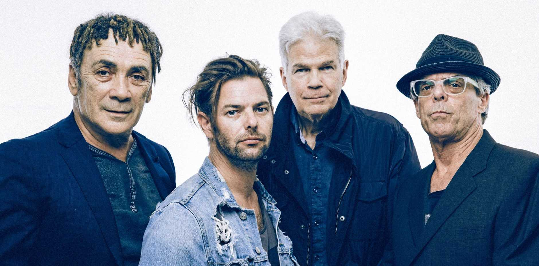 TOURING: The current Dragon line up are Todd Hunter on bass guitar and vocals, Mark Williams on vocals and guitar, Bruce Reid on guitar and Pete Drummond on drums, vocals and keyboards.