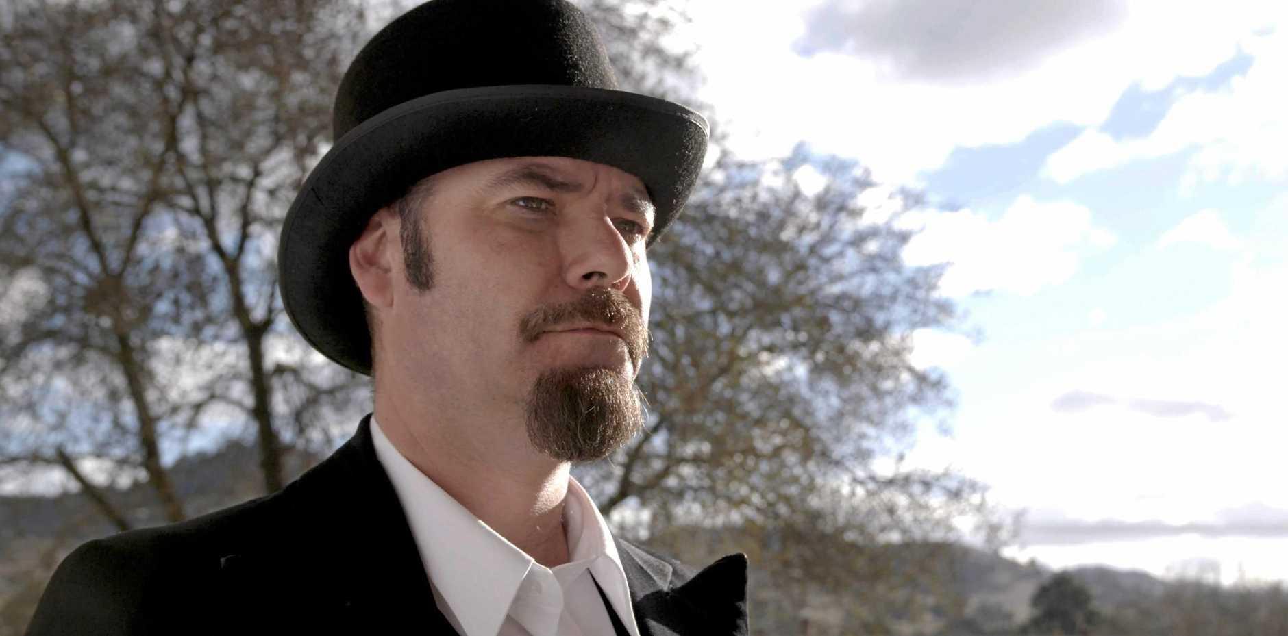 ASHTON FILM: Tamworth local Ben Fletcher in the role of James Ashton