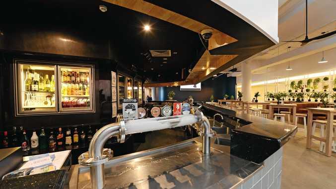Newly renovated AM Bar at Rydges Hotel, Mackay