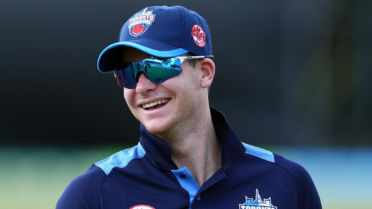 Steve Smith's Toronto Nationals won in his return to professional cricket. Picture: Getty