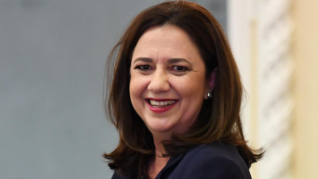 Queensland Premier Annastacia Palaszczuk. Photo: AAP