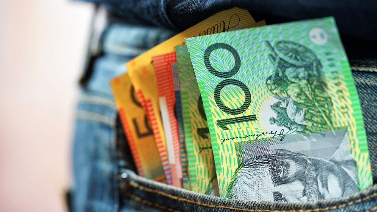 Hip pocket pleasure from tax cuts. Photo: generic iStock