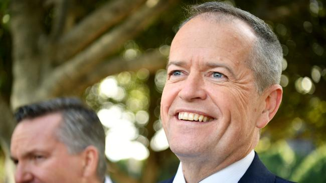 Bill Shorten's embarrassing backdown.