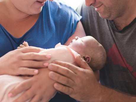 Georgia's daughter Amelia was one of around 2000 stillborn babies born in Australia each year.