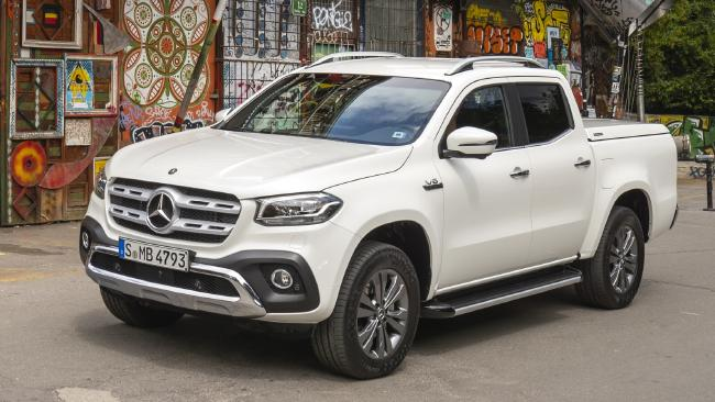 2018 Mercedes-Benz X350d: Likely to start at $70K-plus (overseas model shown)