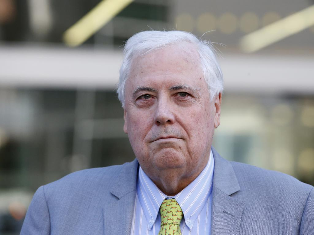Clive Palmer's request to the State Government to help grant Queensland Nickel access to the Port of Townsville has been declined. Photo: AAP