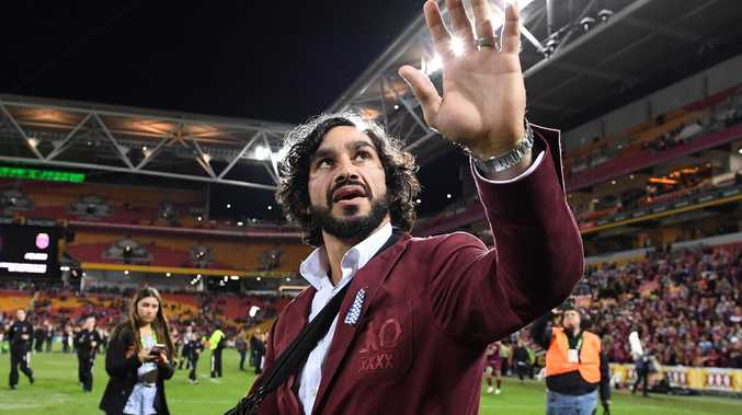 Johnathan Thurston's passion for the Maroons remains as strong as ever. Picgture: Dave Hunt/AAP
