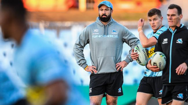 Woods won't be waiting long to make his debut in blue. (AAP Image/Brendan Esposito)