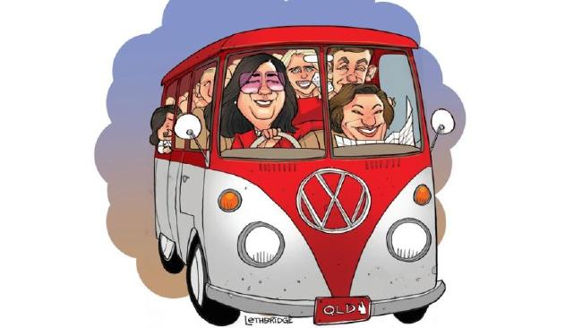 If Palaszczuk's re-elected Labor Government were a car it would probably be a Volkswagen Kombi.