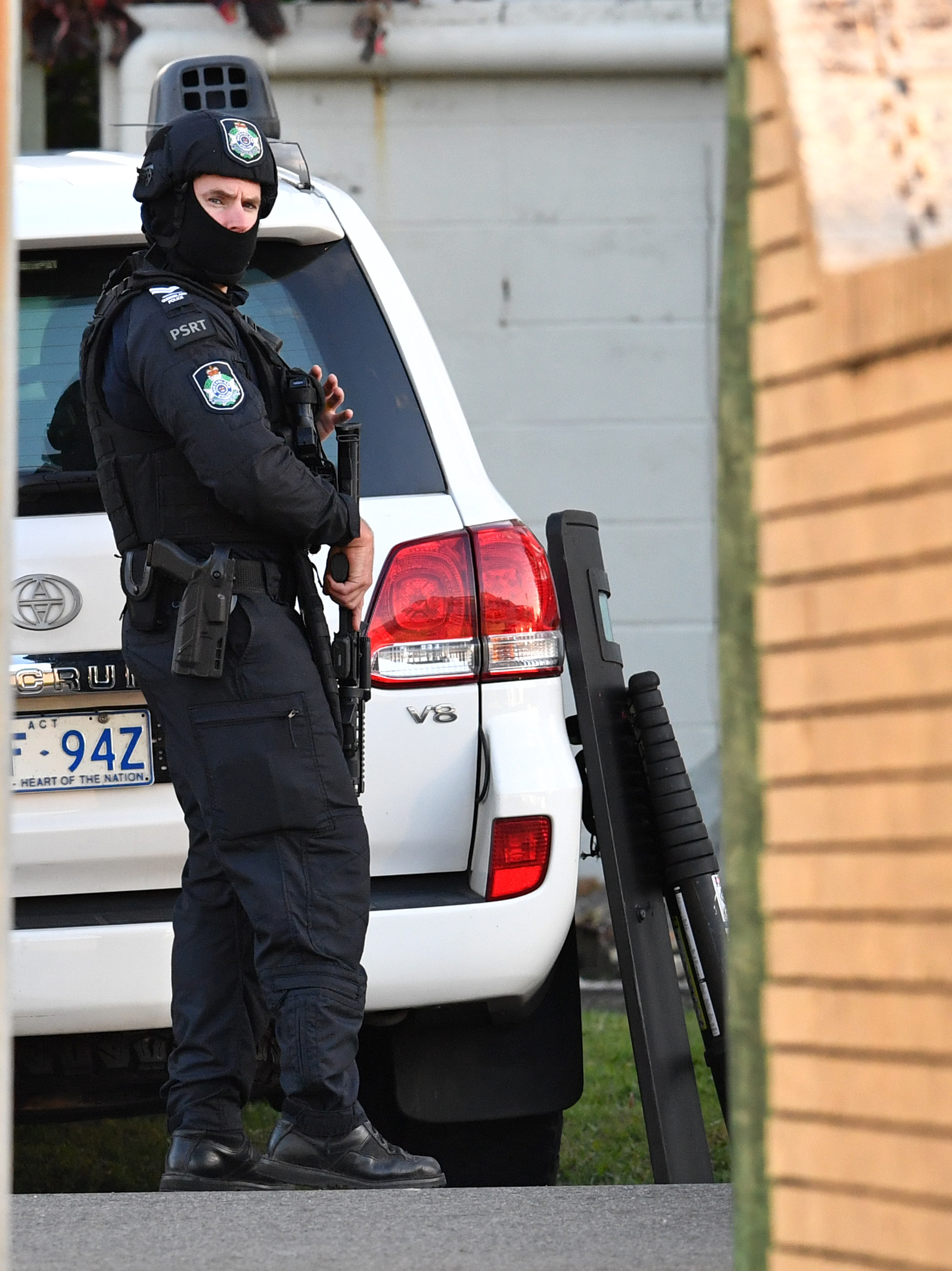 Police have Zlatko Sikorsky cornered in a unit on the Alexandra Headland.