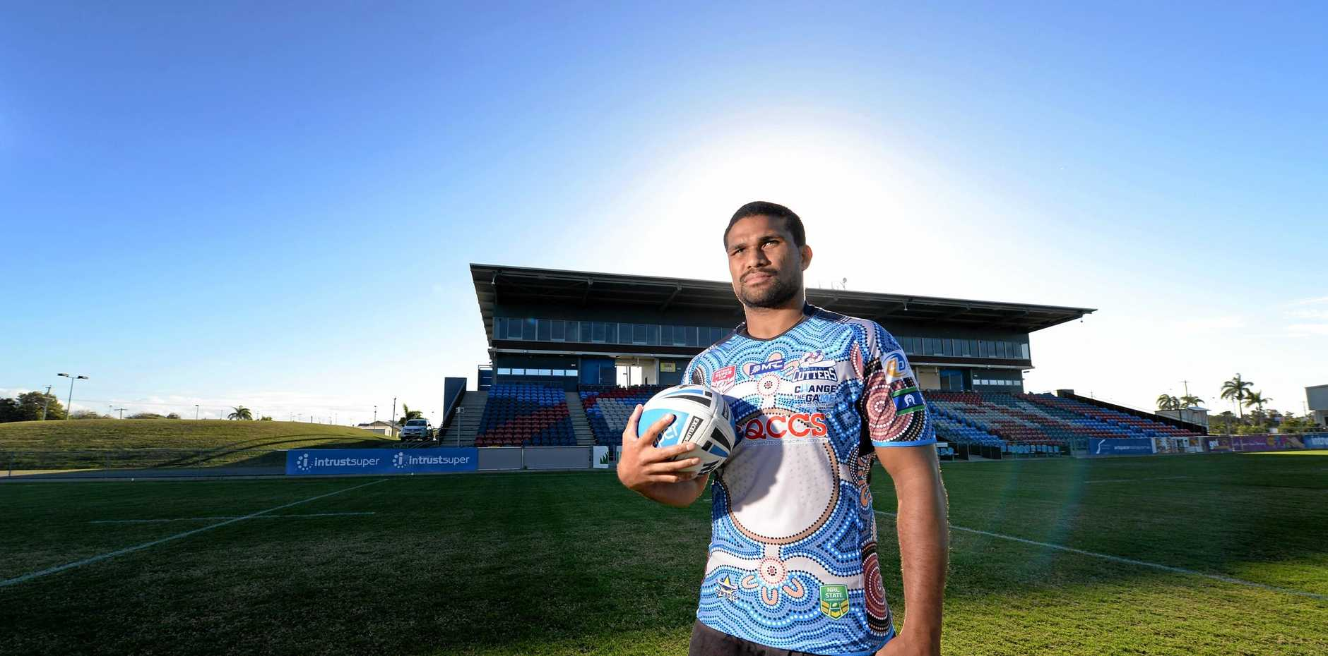 Mackay Cutter and proud indigenous man Jayden Hodges can't wait to represent his people in Indigenous Round against the Central Queensland Capras tonight.