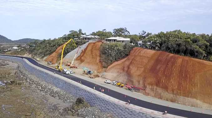 Scenic Highway road at Statue Bay has been closed since Cyclone Marcia but is set to open to the public in mid July.Photo Contributed