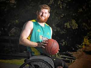Gympie Basketball star shooting with Australian Rollers
