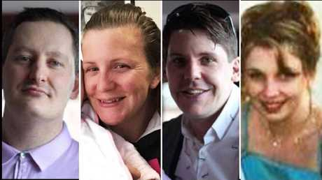Roozbeh, Kate Goodchild, Luke Dorsett and Cindy Low. Picture: Supplied